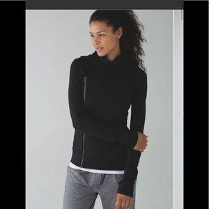 Lululemon Bhakti Yoga Jacket EUC Size 6 Black